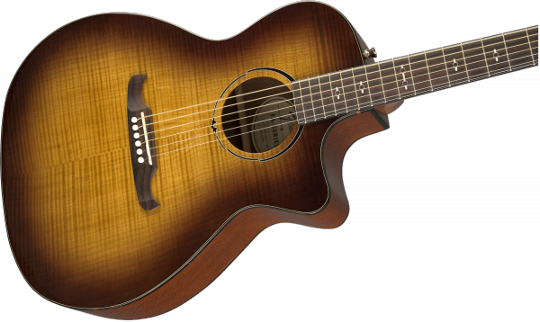 Guitare folk & electro Fender FA-345CE Auditorium (LAU) - 3-tone tea burst