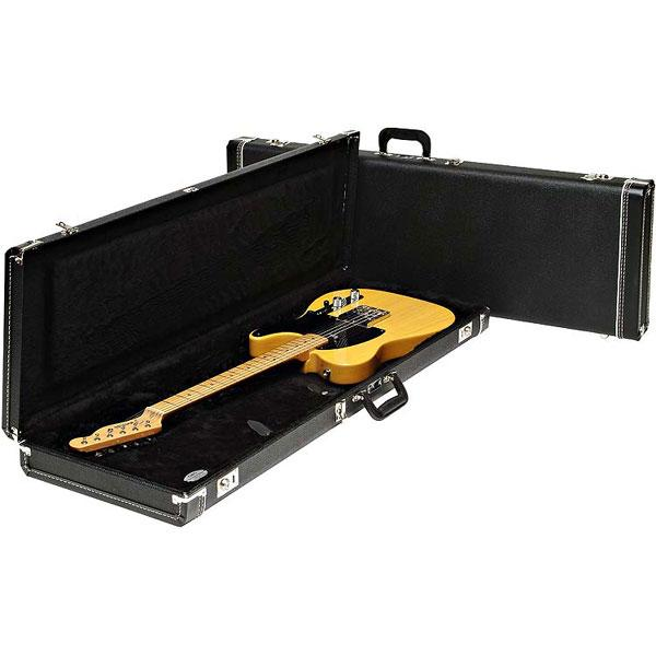Etui guitare électrique Fender Fender Guitar Case ST/T Black Std
