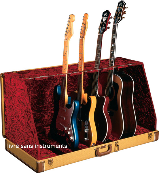 Guitar Case Stand (7 Guitar) Tweed