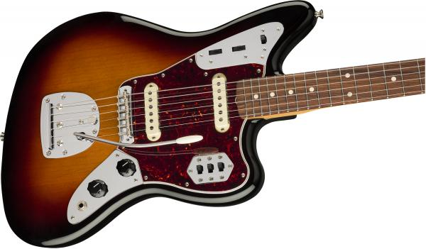 Guitare électrique solid body Fender Vintera 60's Jaguar (MEX, PF) - 3-color sunburst