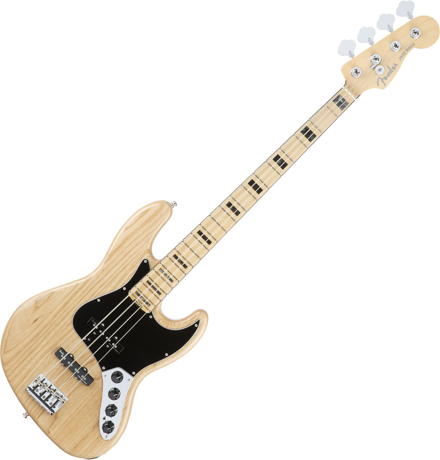 American Elite Jazz Bass Ash (USA, MN) natural