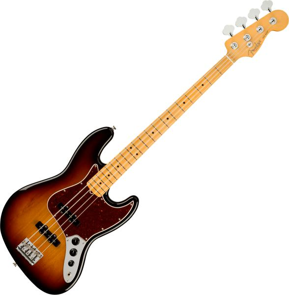 Basse électrique solid body Fender American Professional II Jazz Bass (USA, MN) - 3-color sunburst