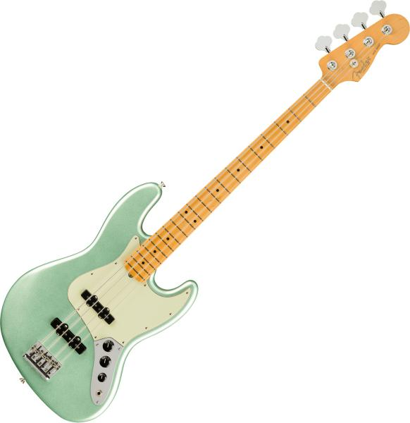 Basse électrique solid body Fender American Professional II Jazz Bass (USA, MN) - Mystic surf green