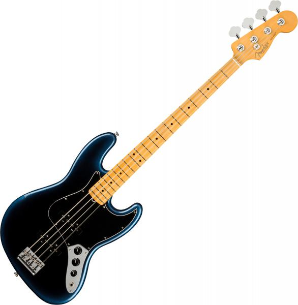 Basse électrique solid body Fender American Professional II Jazz Bass (USA, MN) - Dark night