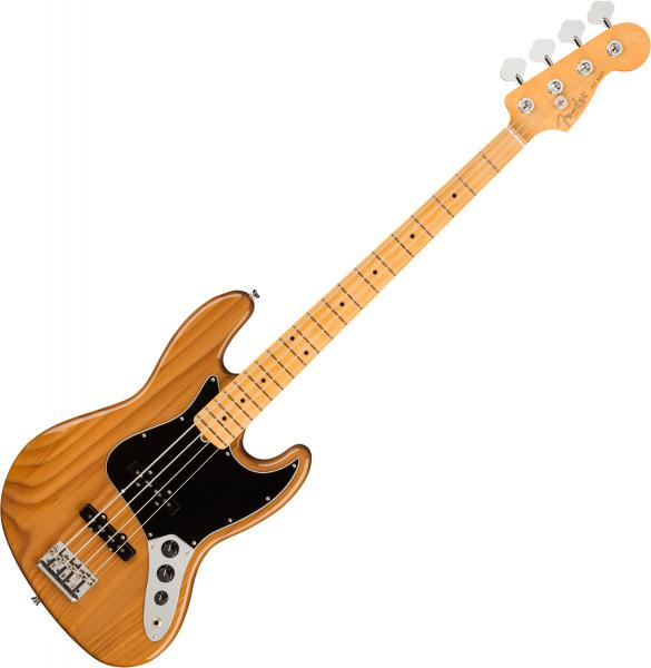 Basse électrique solid body Fender American Professional II Jazz Bass (USA, MN) - Roasted pine