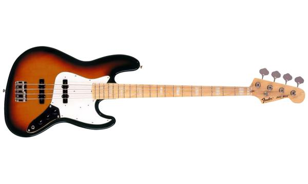 Basse électrique solid body Fender Jazz Bass Classic '70s Japan Ltd (MN) - 3-color sunburst