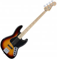 image Deluxe Active Jazz Bass 2016 (MEX, MN) - 3-Color Sunburst