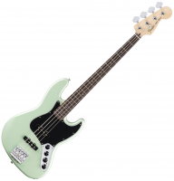 Basse électrique solid body Fender Deluxe Active Jazz Bass 2016 (MEX, RW) - Surf Pearl