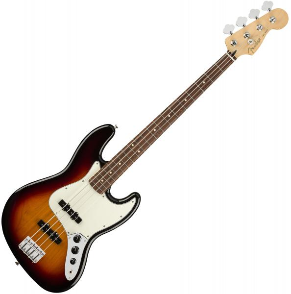 Basse électrique solid body Fender Player Jazz Bass (MEX, PF) - 3-color sunburst