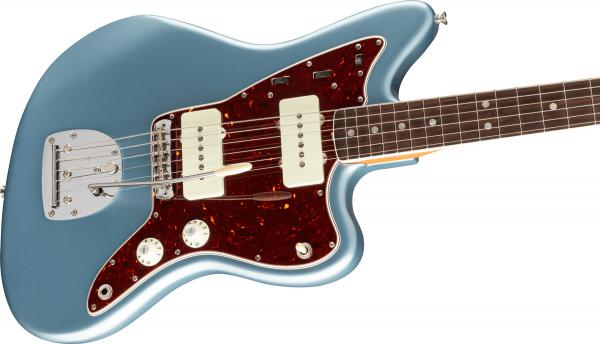 Guitare électrique solid body Fender American Original '60s Jazzmaster (USA, RW) - ice blue metallic