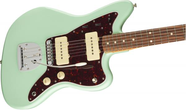 Guitare électrique solid body Fender Vintera 60's Jazzmaster Modified (MEX, PF) - surf green