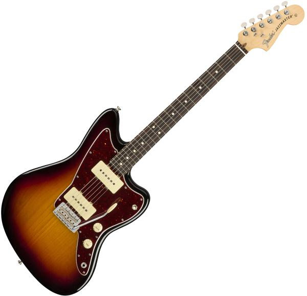 Guitare électrique solid body Fender American Performer Jazzmaster (USA, RW) - 3-color sunburst