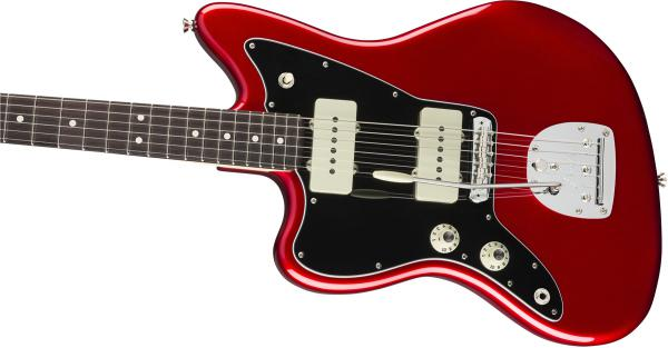 Guitare électrique solid body Fender American Professional Jazzmaster Gaucher (USA, RW) - candy apple red