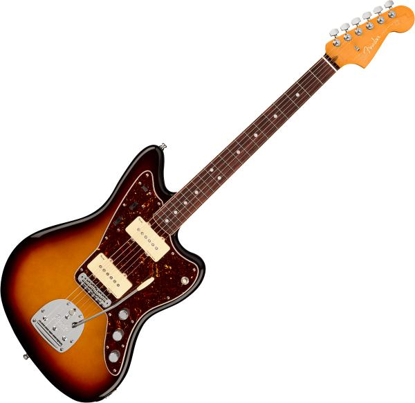 Guitare électrique solid body Fender American Ultra Jazzmaster (USA, RW) - ultraburst