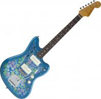 Traditional '60s Jazzmaster (Japan, RW) - Blue flower