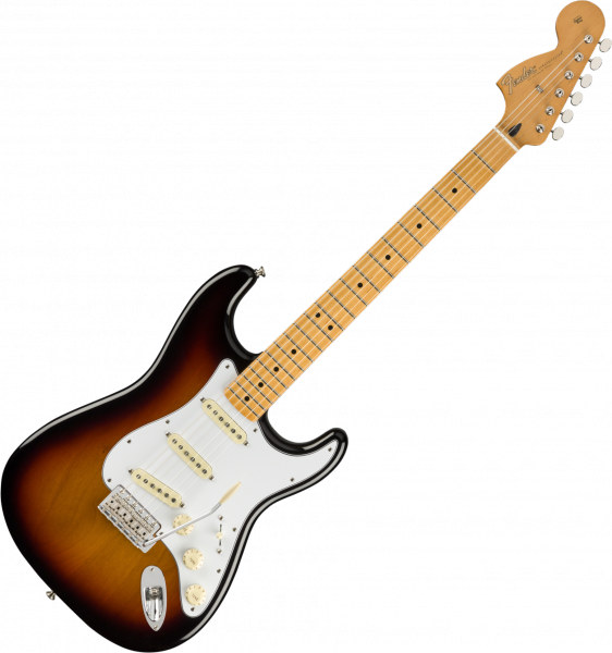 Guitare électrique solid body Fender Jimi Hendrix Stratocaster (MEX, MN) - 3-color sunburst