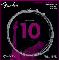 Cordes guitare électrique Fender Jimi Hendrix Voodoo Child Guitar String Ball Nickel 10-38