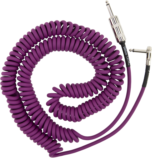 Câble Fender Jimi Hendrix Voodoo Child Coil Cable 30 (9.1m) - Purple