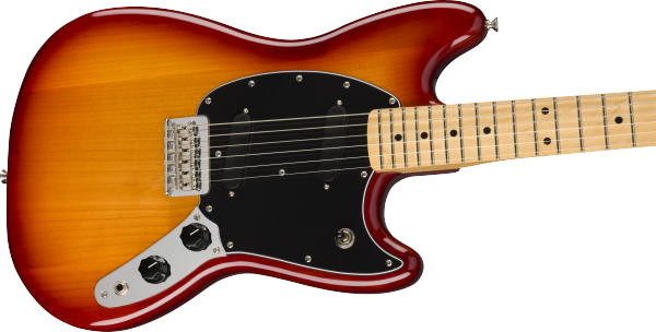 Guitare électrique solid body Fender Player Mustang (MEX, MN) - sienna sunburst