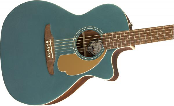 Guitare folk & electro Fender Newporter Player (WAL) - ocean teal
