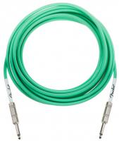 Câble Fender Original Instrument Cables, Straight, 18.6ft - Surf Green