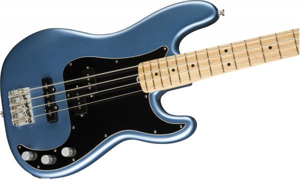 Basse électrique solid body Fender American Performer Precision Bass (USA, MN) - satin lake placid blue