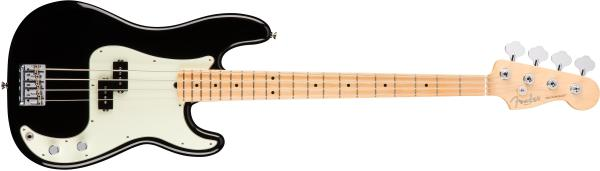 Basse électrique solid body Fender American Professional Precision Bass (USA, MN) - black