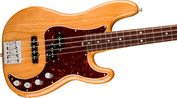 Basse électrique solid body Fender American Ultra Precision Bass (USA, RW) - aged natural