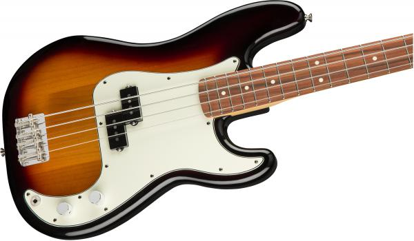 Basse électrique solid body Fender Player Precision Bass (MEX, PF) - 3-color sunburst