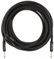Câble Fender Professional Instrument Cable, Straight/Straight, 25ft - Black