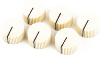 Bouton ampli Fender Pure Vintage Radio Amplifier Knobs (6) - Cream