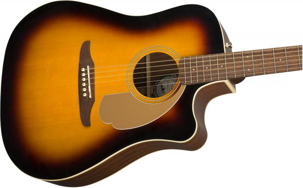 Guitare folk & electro Fender Redondo Player - sunburst