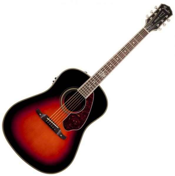 Guitare Folk Fender Ron Emory Loyalty Slope Shoulder