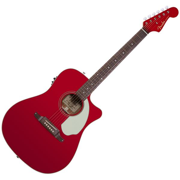 fender sonoran sce upgraded candy apple red matching headstock livr chez vous avec star 39 s music. Black Bedroom Furniture Sets. Home Design Ideas