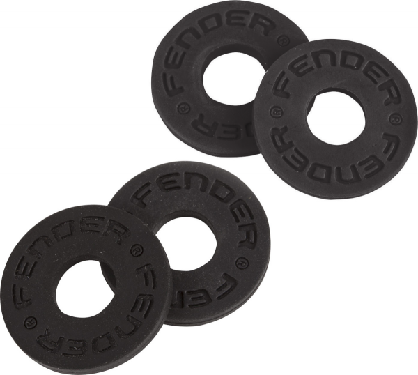 Strap lock Fender Strap Blocks 4-Pack - Black