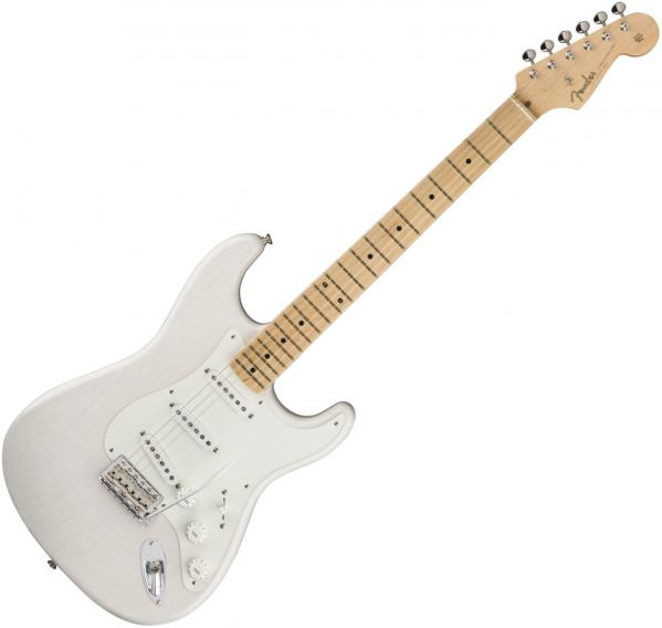 Guitare électrique solid body Fender American Original '50s Stratocaster (USA, MN) - white blonde