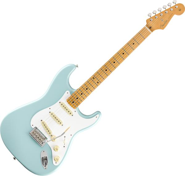 Guitare électrique solid body Fender Vintera 50's Stratocaster Modified (MEX, MN) - daphne blue
