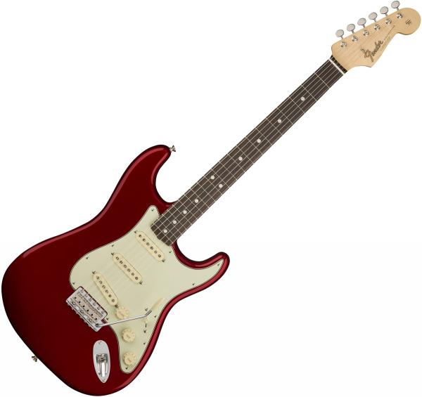 Guitare électrique solid body Fender American Original '60s Stratocaster (USA, RW) - Candy apple red