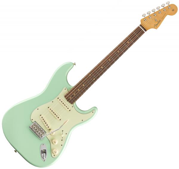 Guitare électrique solid body Fender Vintera 60's Stratocaster (MEX, PF) - surf green