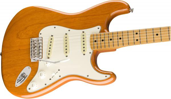 Guitare électrique solid body Fender Vintera 70's Stratocaster (MEX, MN) - aged natural