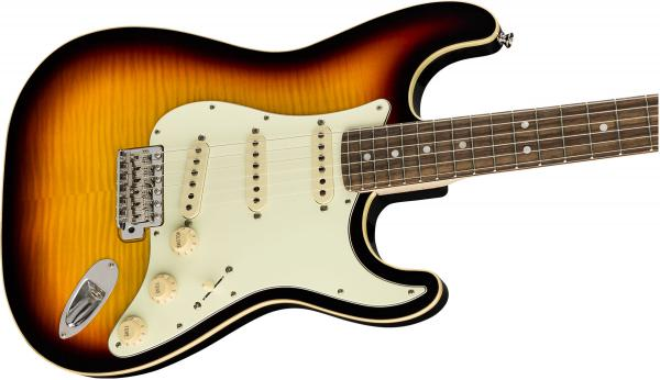 Guitare électrique solid body Fender Aerodyne Classic Stratocaster Flame Maple Top Ltd - 3-color sunburst