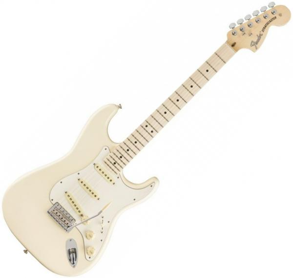 Guitare électrique solid body Fender American Performer Stratocaster Ltd (USA, MN) - olympic white