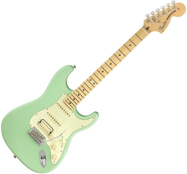 Guitare électrique solid body Fender American Performer Stratocaster HSS (USA, MN) - satin surf green