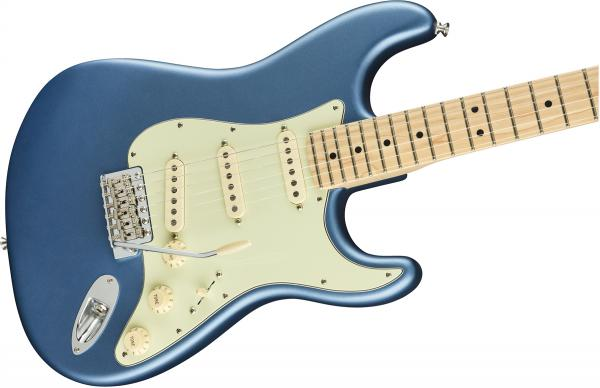 Guitare électrique solid body Fender American Performer Stratocaster (USA, MN) - satin lake placid blue