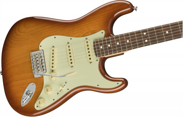 Guitare électrique solid body Fender American Performer Stratocaster (USA, RW) - honey burst
