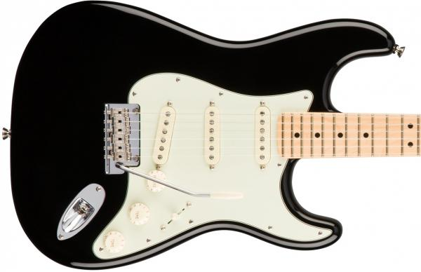 Guitare électrique solid body Fender American Professional Stratocaster (USA, MN) - black
