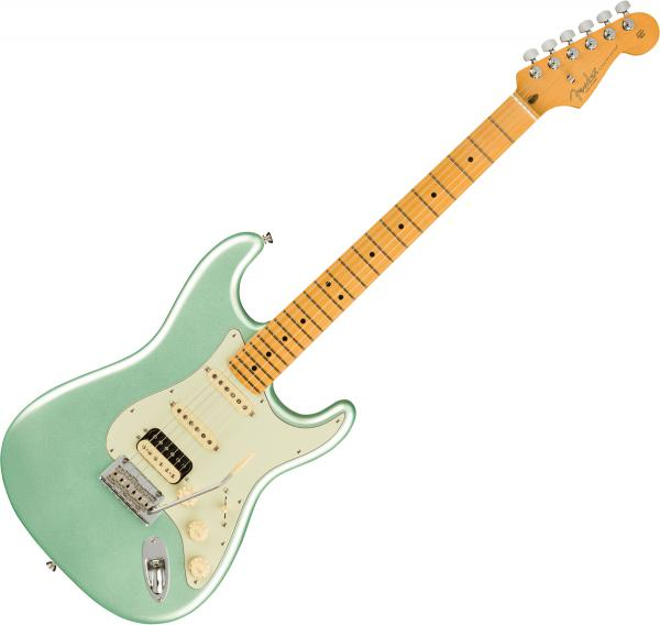 Guitare électrique solid body Fender American Professional II Stratocaster HSS (USA, MN) - Mystic surf green