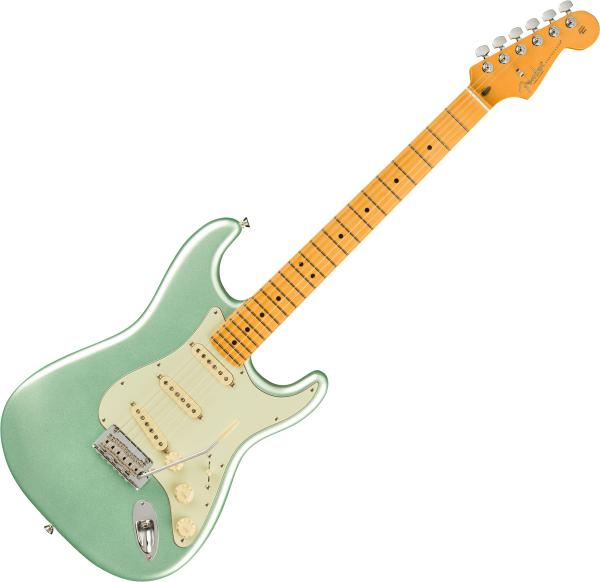 Guitare électrique solid body Fender American Professional II Stratocaster (USA, MN) - Mystic surf green