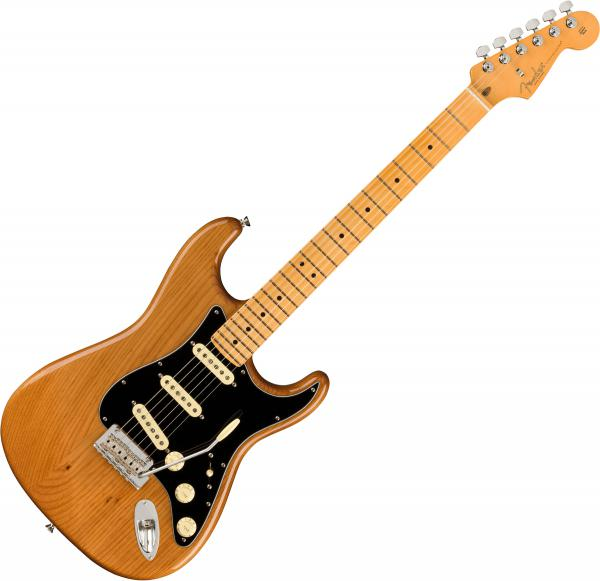 Guitare électrique solid body Fender American Professional II Stratocaster (USA, MN) - Roasted pine