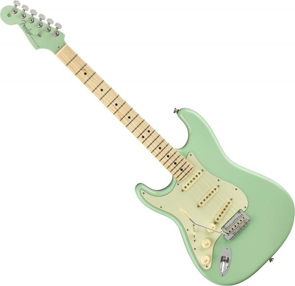 Guitare électrique solid body Fender American Professional Stratocaster Gaucher Ltd (USA, MN) - surf green with mhc